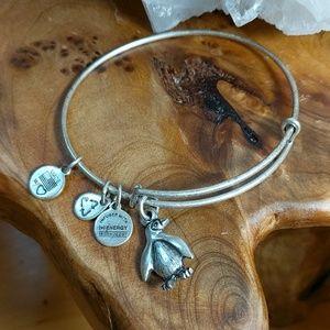 Alex & Ani Penguin Charm Bracelet